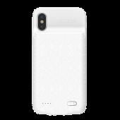 Чехол-аккумулятор Baseus для Apple iPhone X, Plaid Backpack Case 3500 Mah, белый