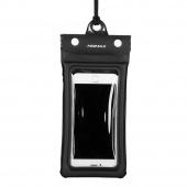 Чехол водонепроницаемый Momax Air Pouch для смартфона, черный