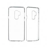 Чехол силиконовый для Samsung S9 Plus, прозрачный