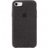Чехол для iPhone7/8 Hiha Canvas Pattem тканевый, чёрный