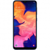 Смартфон Samsung Galaxy A10 32Gb, синий