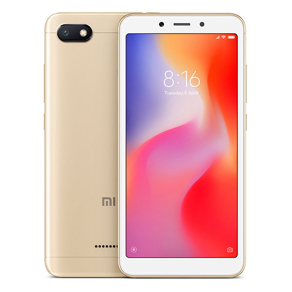 Смартфон Xiaomi Redmi 6A, 32GB/3, золотой (China Version)