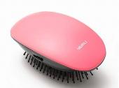 Виброрасчетка с ионизацией Xiaomi Portable Negative Ion Massage Comb, розовый