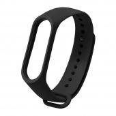 Ремешок для Xiaomi Mi Band 5, силиконовый, черный