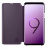 Чехол Samsung Clear View Standing Cover S9, фиолетовый