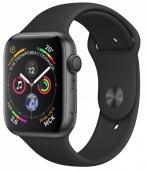 Умные часы Apple Watch Series 4, 44mm, серый космос