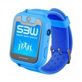 Детские часы с GPS G72, голубой