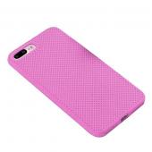 Чехол для iPhone 7/8 Plus сетчатый, розовый