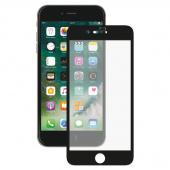 Стекло защитное для iPhone 7/8 5D, рамка черная