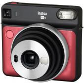 Фотоаппарат моментальной печати Fujifilm Instax SQ 6, красный