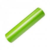 Валик для фитнеса гладкий 45х15см, зеленый