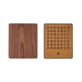 Коврик для мыши Xiaomi Wood Grain Mouse Pad (250 х 205), деревянный
