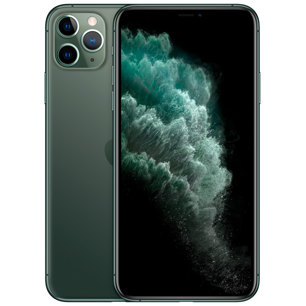Смартфон Apple iPhone 11 Pro Max 256 GB Dual sim, зеленый