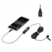 Микрофон петличный USB-C Boya BY-DM2