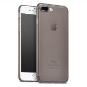 Чехол для iPhone 7/8 Plus TPU ультратонкий матовый, черный