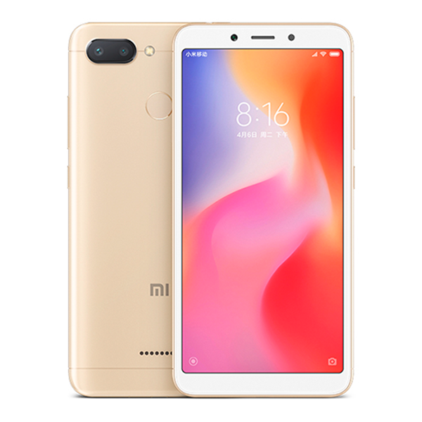 Смартфон Xiaomi Redmi 6, 32GB/3, золотой (Global Version)
