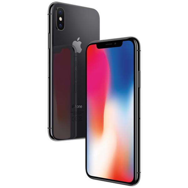 Смартфон Apple iPhone X 64 GB, черный (Ростест)
