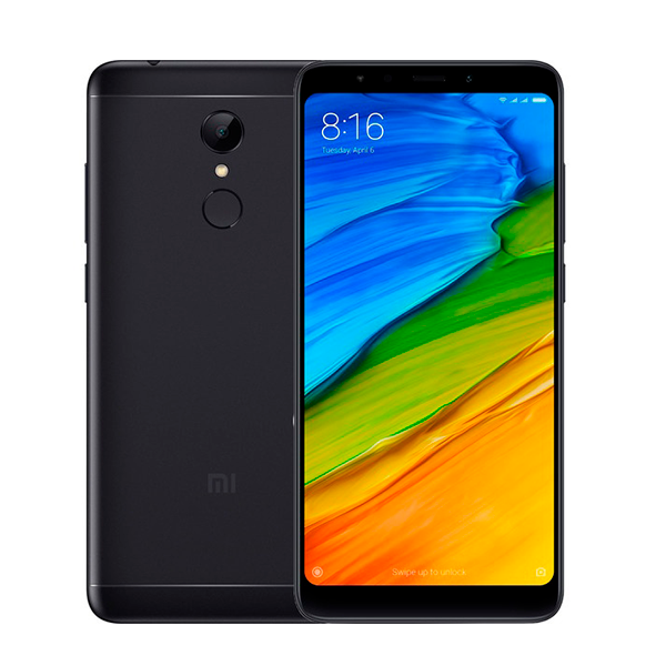 Смартфон Xiaomi Redmi 5 Plus, 64GB/4, черный (China Version)