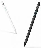 Стилус Wiwu Picasso Pencil для Android/ iOS, белый (с кожаным чехлом)