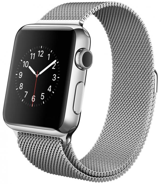 Браслет миланский для Apple Watch 38/40мм сетчатый, серебристый