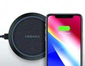 Беспроводное зарядное устройство Momax Q.PAD Fast Wireless Charger, черный