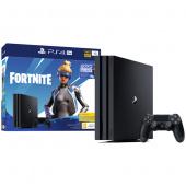 Игровая приставка Sony Playstation 4 Pro 1TB (CUH-7216B) + Fortnite, черный