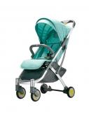 Детская коляска-трансформер Bebehoo Start Lightweight Four-wheeled Stroller, зеленый