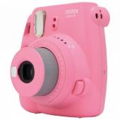 Фотоаппарат моментальной печати Fujifilm instax mini 9 poppy, розовый