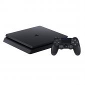 Игровая приставка Sony Playstation 4 Slim 500GB, черный
