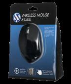 Мышь HP H2W26AA x4500 USB, черный