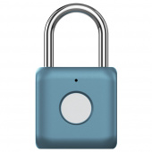 Замок с датчиком отпечатка Xiaomi Smart fingerprint lock Kitty, синий