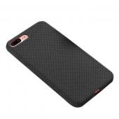 Чехол для iPhone 7/8 Plus сетчатый, чёрный