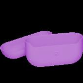 Чехол силиконовый для AirPods Pro, фиолетовый