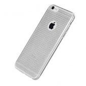 Чехол для iPhone 7/8 TPU с блестками, прозрачный
