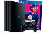 Игровая приставка Sony Playstation 4 Pro 1TB (CUH-7216B) + NHL20, черный