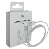 Кабель Apple Lightning/USB, 1м (MQUE2ZM/A) РСТ
