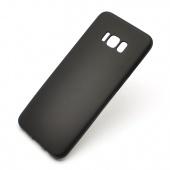 Чехол пластиковый для Samsung S8, черный