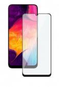 Стекло защитное для Samsung Galaxy A30/A50, 3D черный