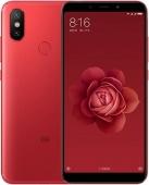Смартфон Xiaomi Mi 6X, 64GB/4, красный (China Version)