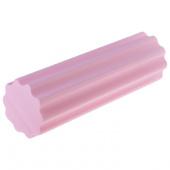 Валик для фитнеса zef 45x15см, розовый