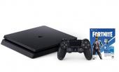 Игровая приставка Sony Playstation 4 Slim 500GB + Fortnite, черный