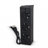 Вертикальная подставка c зу для Sony PS4/PS4 Pro Multifuction Dobe TP4-837