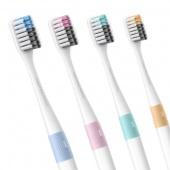 Набор зубных щеток Xiaomi Bass Soft Toothbrush 4(шт)